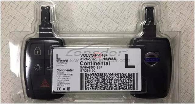 Lonsdor K518ISE programs Volvo S40 key and remote key (17)