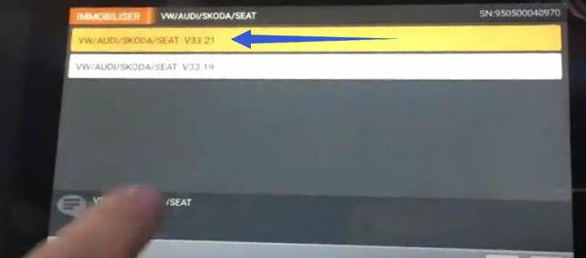 OBDSTAR X300 DP All Key Lost Programming for Audi Q5 A4L (2)