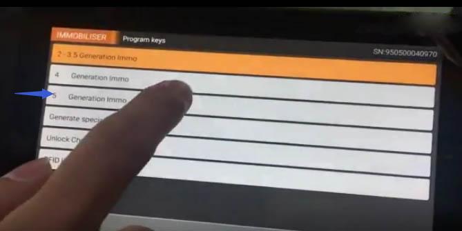 OBDSTAR X300 DP All Key Lost Programming for Audi Q5 A4L (5)