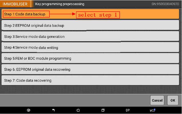 OBDSTAR X300 DP Program Smart Key for BWM FEM BDC (13)