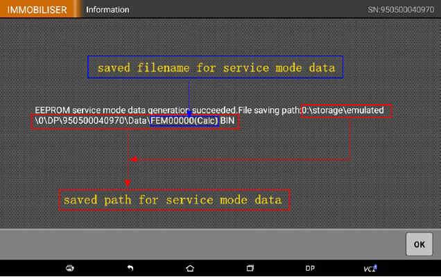 OBDSTAR X300 DP Program Smart Key for BWM FEM BDC (33)