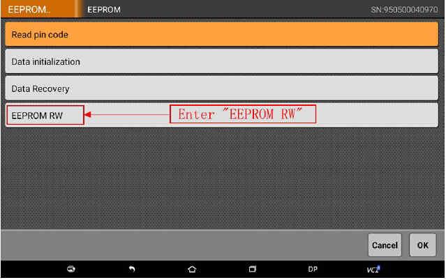 OBDSTAR X300 DP Program Smart Key for BWM FEM BDC (44)