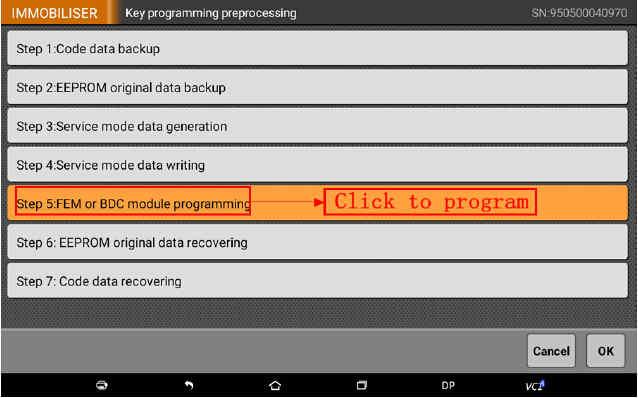OBDSTAR X300 DP Program Smart Key for BWM FEM BDC (53)