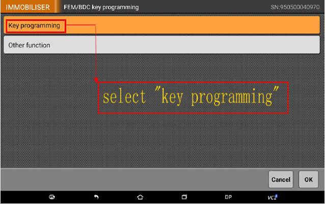 OBDSTAR X300 DP Program Smart Key for BWM FEM BDC (6)