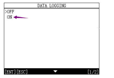 How to use OBDSTAR X300M Data Logging Function-3